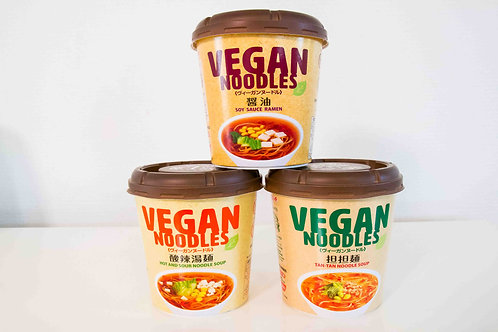 Vegan Ramen Pack (8 Total / 3 Types)