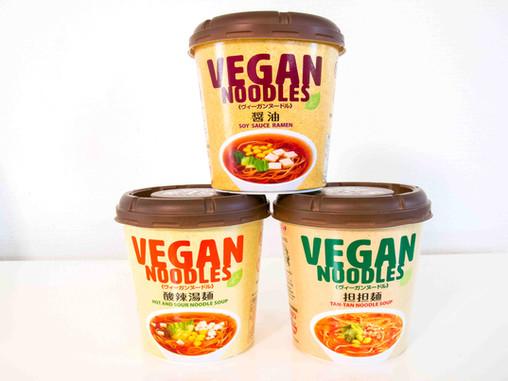Vegan Instant Ramen - Japan's Best