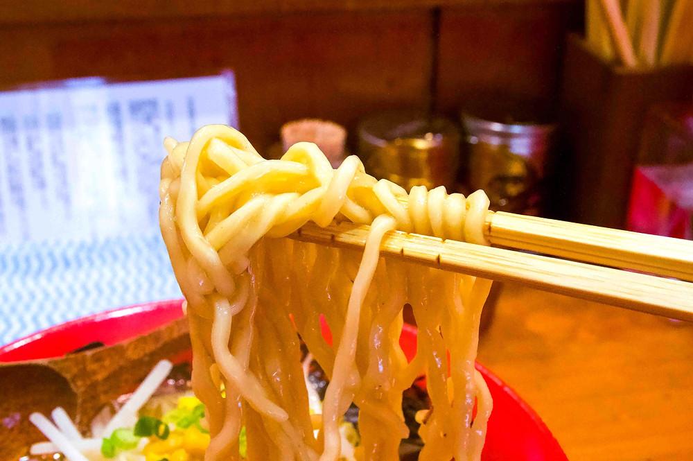 Tokyo Miso Ramen - Noodles