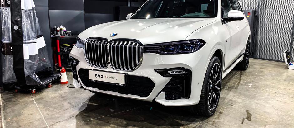 Оптимизация нового BMW X7
