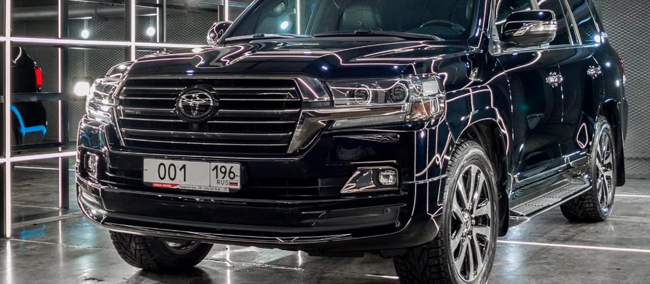 Полировка Toyota Land Cruiser EXCALIBUR