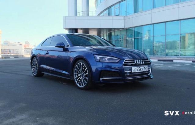 Эксклюзивный внешний вид Audi A5
