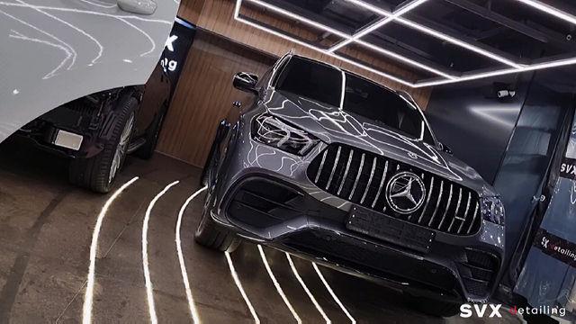 Защита нового Mercedes GLE 63 AMG