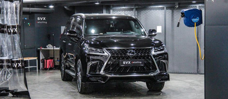 Lexus LX 570: больше, чем просто защита