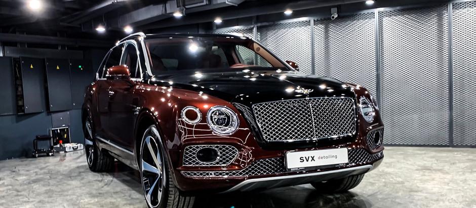 Защита нового Bentley Bentayga