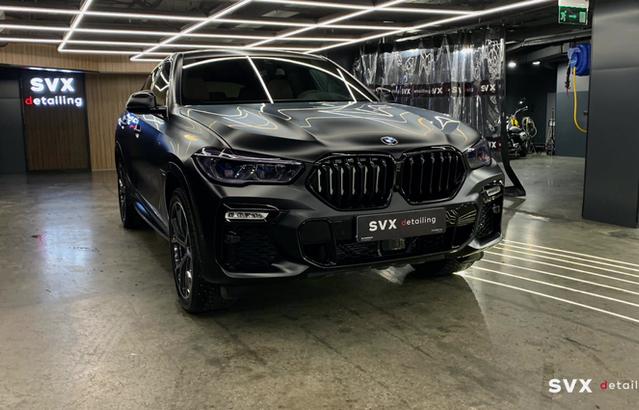 BMW X6: мощному авто – соответствующий экстерьер