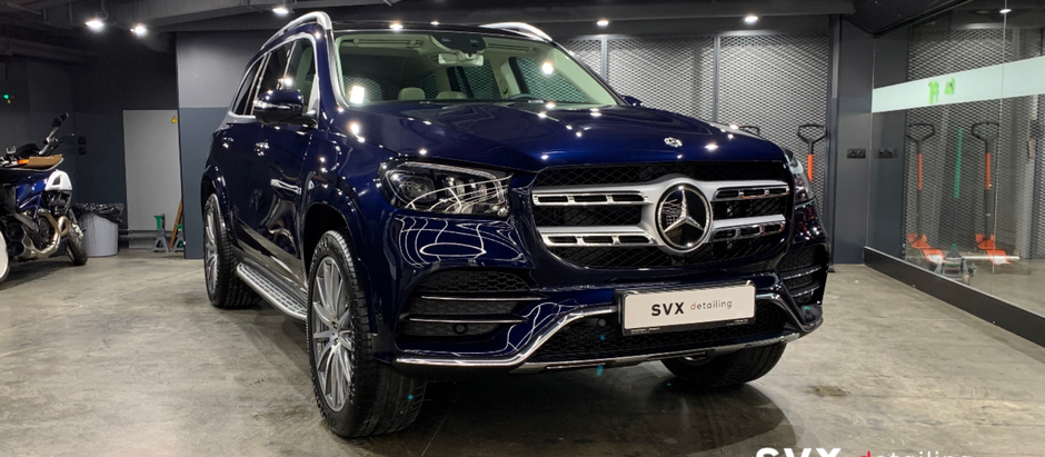 Максимальный разбор для невидимой зашиты Mercedes GLE