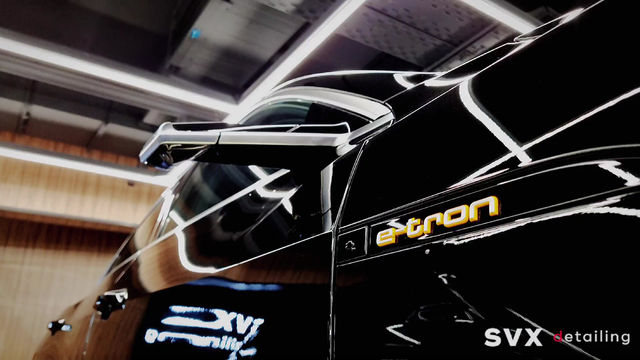 Защита нового электрокара Audi e-tron