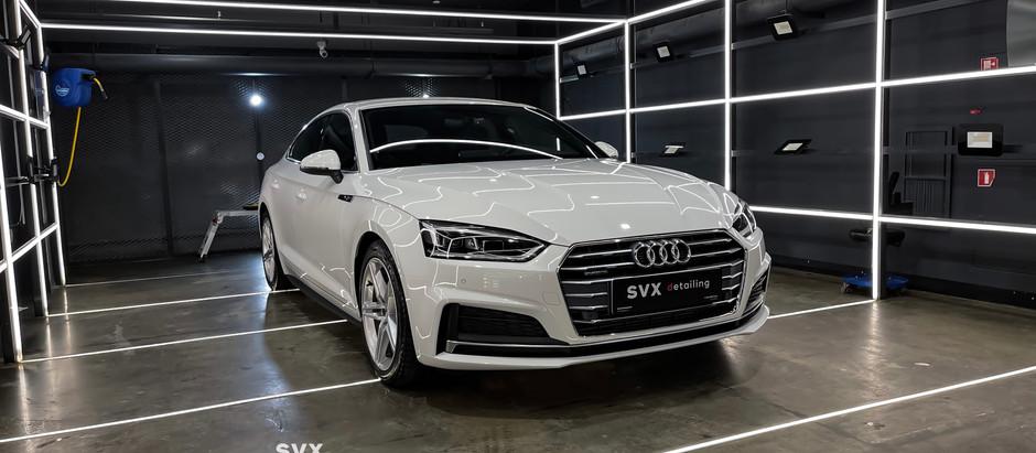 Audi A5: восстановление и защита