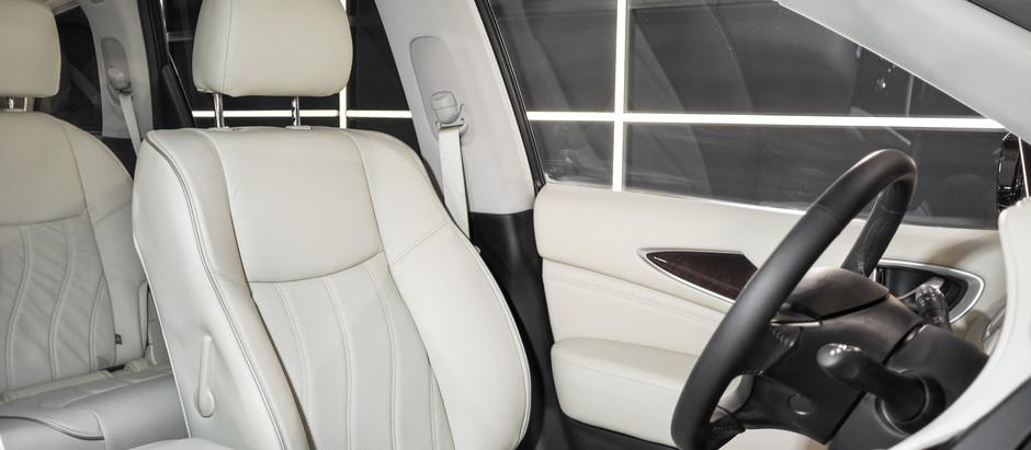 Infiniti QX60: защита кузова и белоснежного салона