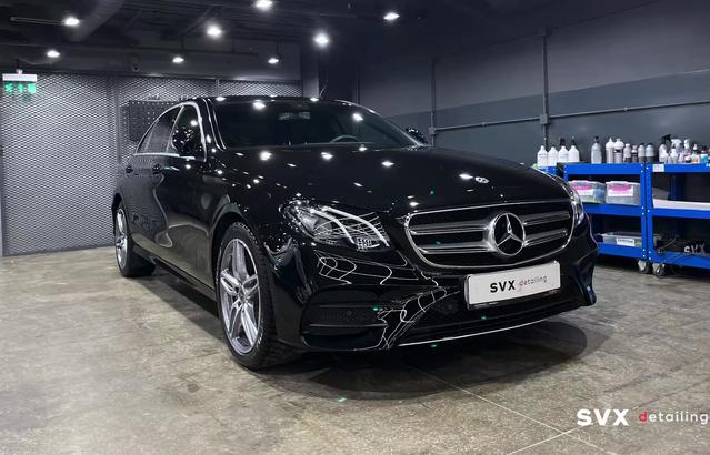 Комбинированная защита для Mercedes E-Class