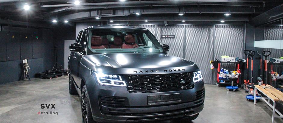 Range Rover: защита, комфорт, безопасность