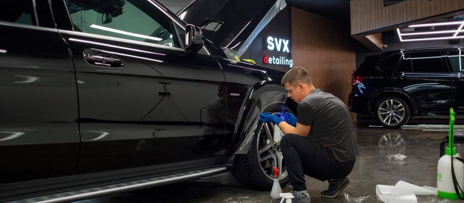 Антигравийка для Mercedes GLS