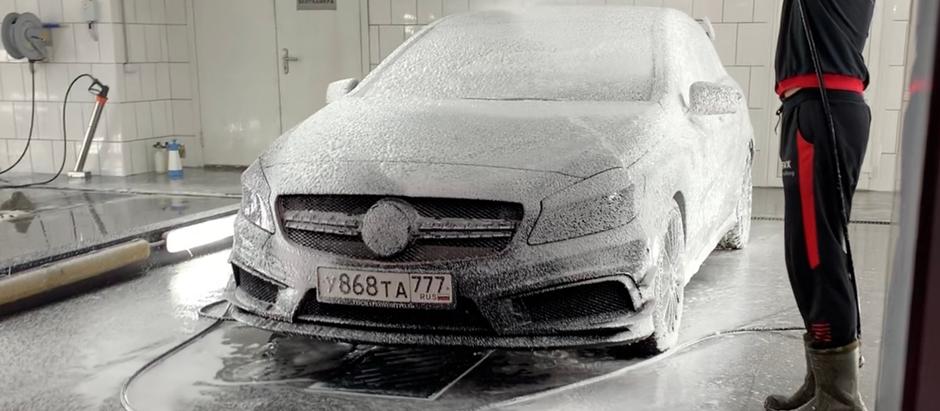 SVX CAR WASH: приятное с полезным
