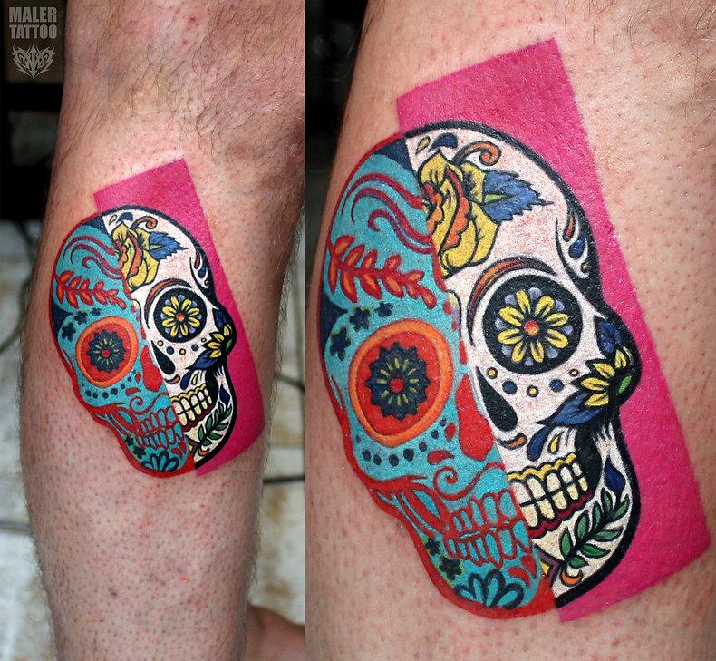 Татуировка в Екатеринбурге 2018, 2 часа, Павел Maler #MalerTattooStyle #MalerTattoo #MTRealism #IntenzePride