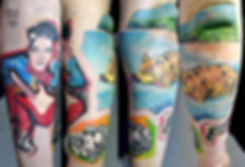 Студия Lebenslänglich Tattoo, Ессен, Германия 🇩🇪, 2018, 10 часов, Павел Maler #MalerTattooStyle #MalerTattoo #MTRealism #IntenzePride