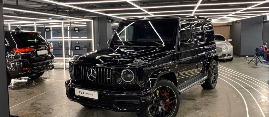 Mercedes G 63 AMG - полная оклейка кузова полиуретановой пленкой
