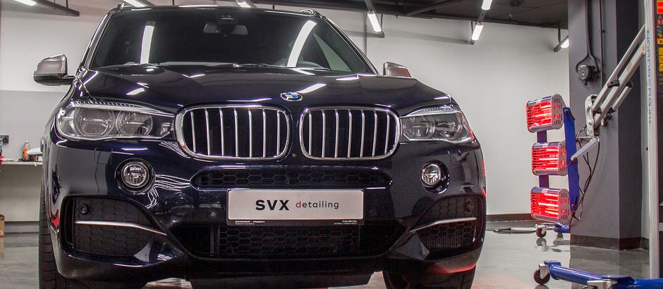 Универсальная комплексная защита кузова.  BMW X5.