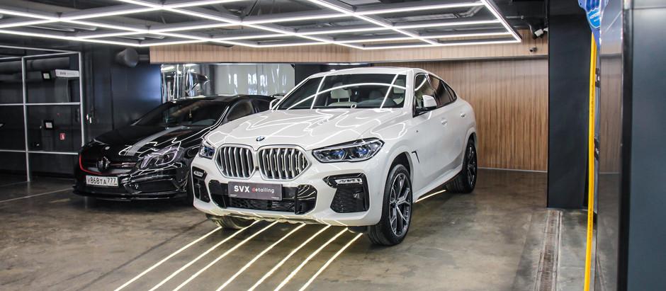 BMW X6 под защитой: внутри и снаружи