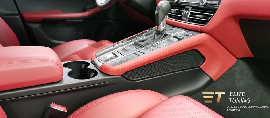 Дополненный кожаный пакет для Porsche Macan