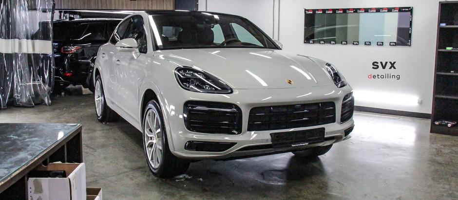 Porsche Cayenne: защищен со всех сторон