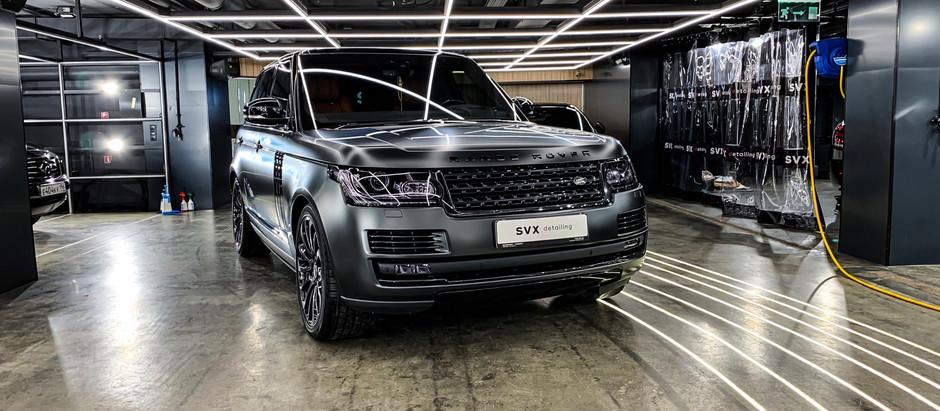 Эффект 2в1: новый цвет и защита Range Rover Vogue