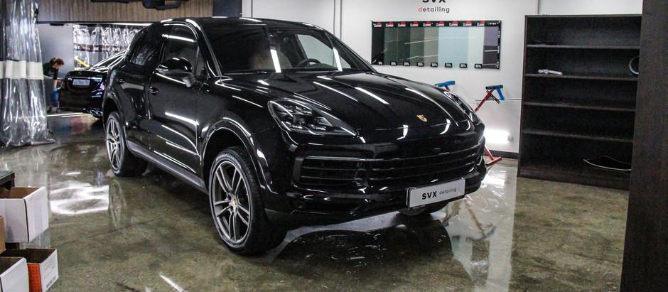 Porsche Cayenne: восстановить и защитить