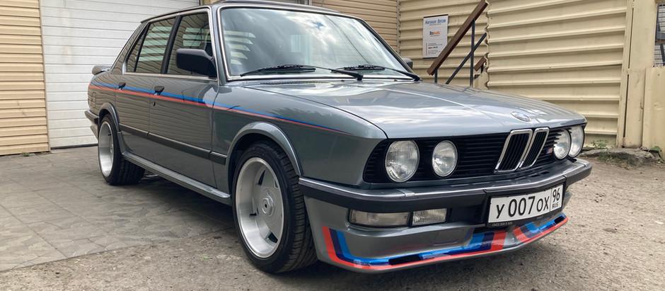 Масштабный проект BMW 530 e28 от Elite Tuning
