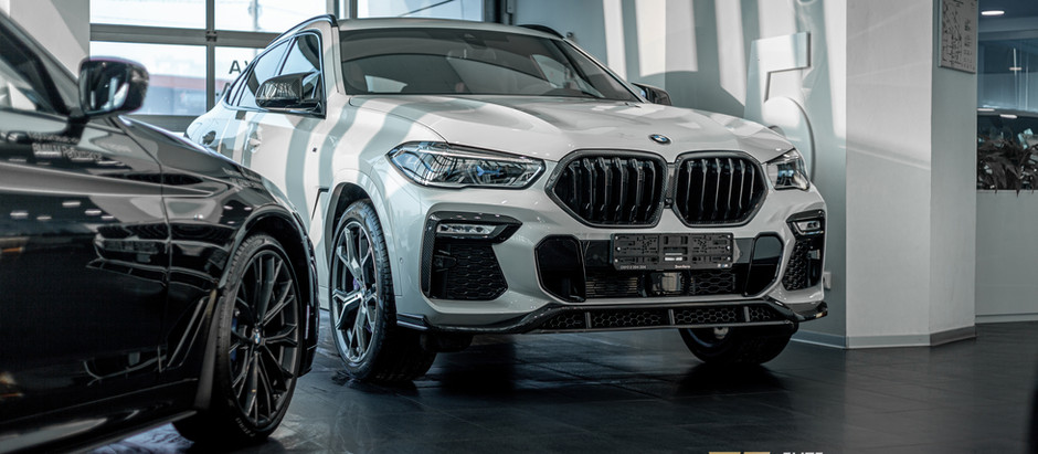 Тюнинг BMW X6 от Renegade: характер превосходства