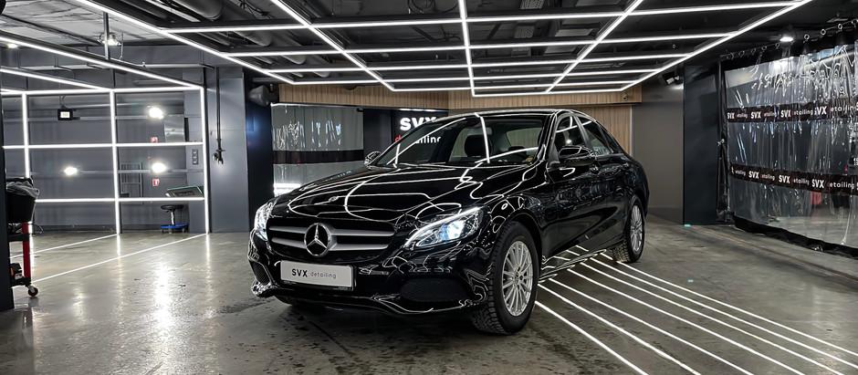 Восстановительная полировка Mercedes C-Class