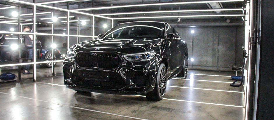BMW X6 M: всё и сразу