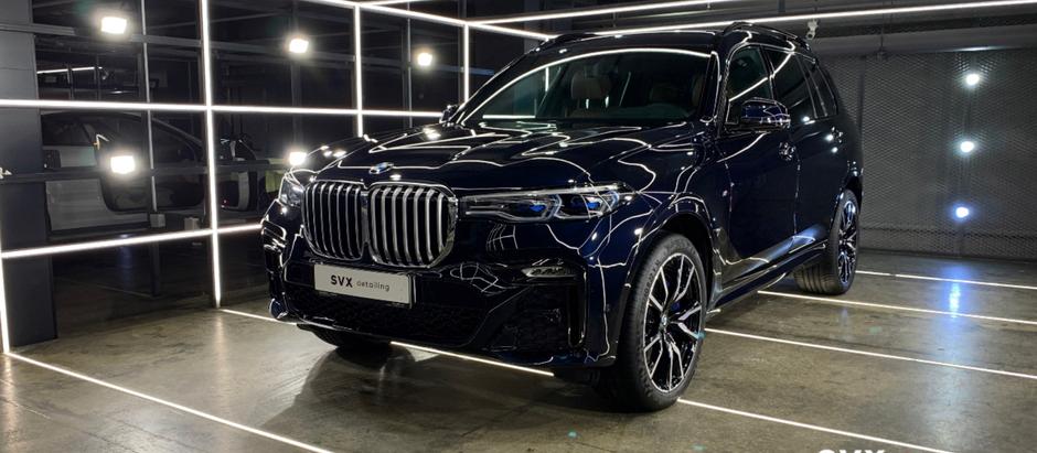 BMW X7: Мощному автомобилю – максимальную защиту!