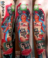 Взрыв мозга , с дальнейшей его игрой , безумие и торжество его, гений или с ума шедший, проводник сознания, печать, рассказ, мозайка знаний, доверие, любовь, творчество, Свет... 2018, фрагмент концептуальной большой татуировки от @malertattoo , maler tattoo style, соver up #MalerTattooStyle #MalerTattoo #MTRealism #IntenzePride