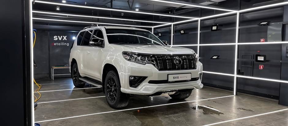 Toyota Land Cruiser Prado: защита зон риска