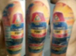 Студия Lebenslänglich Tattoo, Ессен, Германия 🇩🇪, 2018, 6 часов, Павел Maler #MalerTattooStyle #MalerTattoo #MTRealism #IntenzePride