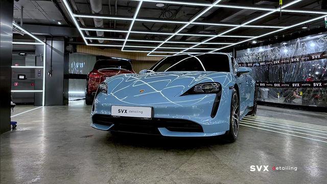 Porsche Taycan: защита уникального авто