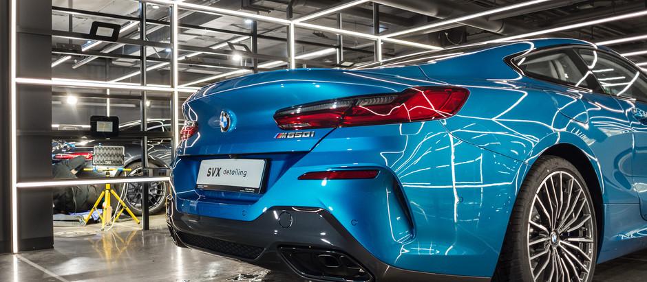 Спортивный люксовый BMW 850 посетил детейлинг-центр SVX ⚡️