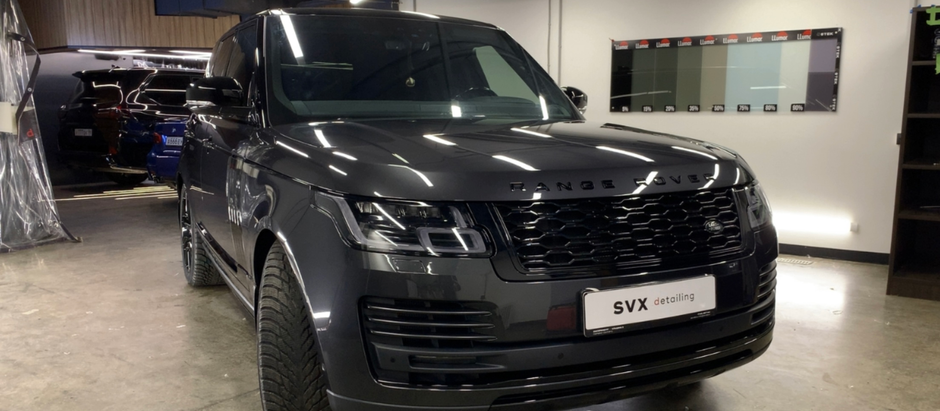 Range Rover: защита – блеск!