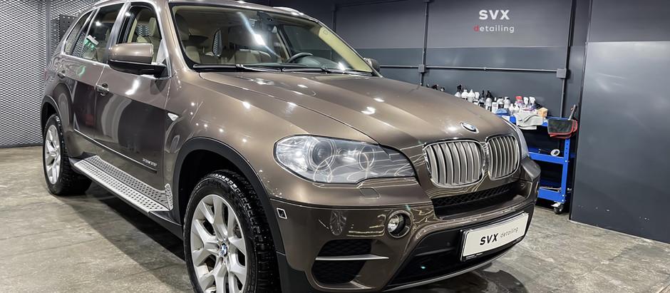 BMW X5: комплексная химчистка салона