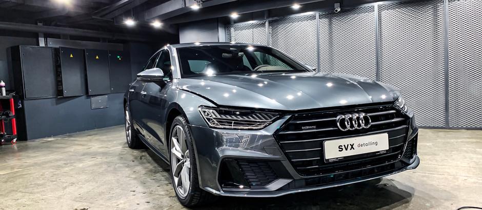Audi A7: внимание к деталям
