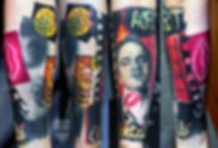 Tarantino tatttoo, Тарантино тату, татуировка в екаетринбурге