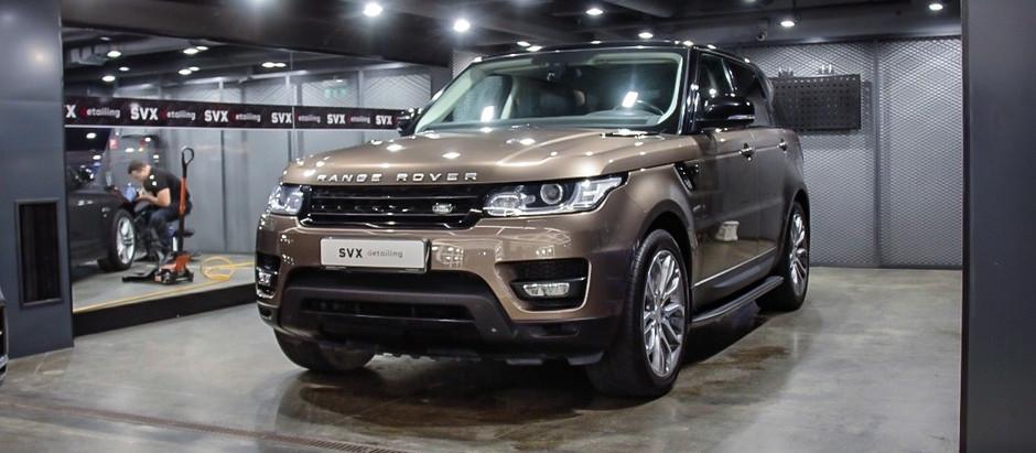 Range Rover: дело в деталях