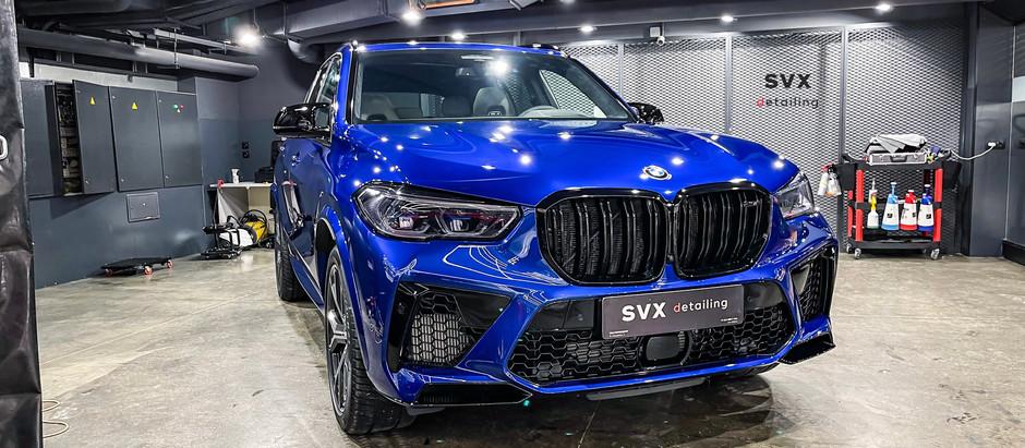 Безупречный и оригинальный BMW X5M competition