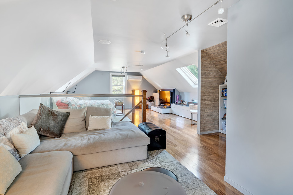 Spacious in-law suite custom build in real estate photograph by Allard Media Group