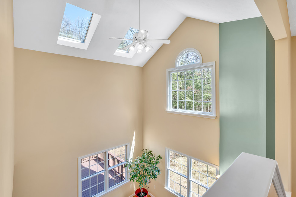 Beautiful vaulted ceiling  custom build in real estate photograph by Allard Media Group