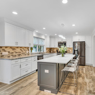 Well crafted kitchen in real estate photograph by Allard Media Group