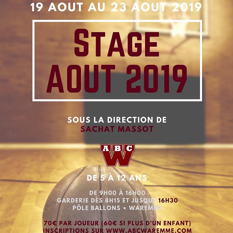 Stage de Reprise 2019-2020