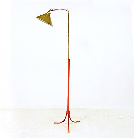 1950s Floor Lamp In Brass By Josef Frank For Svenskt Tenn