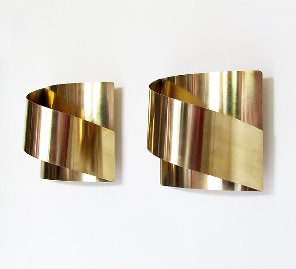 """Band"" Wall Lights By Peter Celsing"