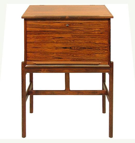 Model 67 Danish Rosewood Secrétaire Standing Desk by Arne Wahl Iversen